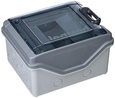 Legrand IP65 IK09 601976 - Caja magnetotérmicos (1 fila 6 módulos 200 x 164 x 115,6 mm): Amazon.es: Industria, empresas y ciencia