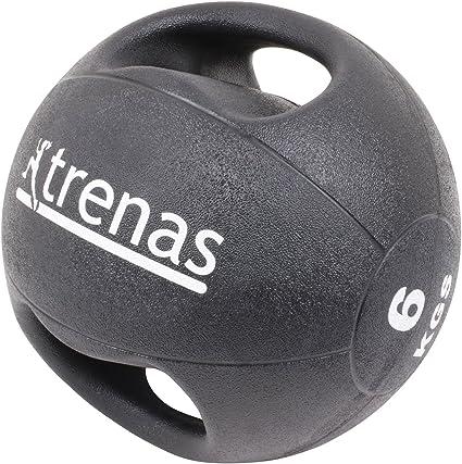 trenas Pro Balón Medicinal con Asas – 6 kg: Amazon.es: Deportes y ...