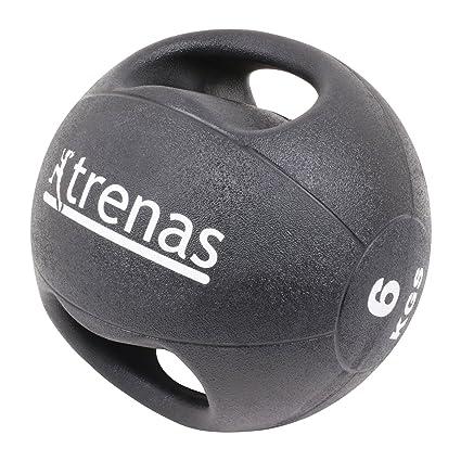 trenas Pro Balón Medicinal con Asas - 6 kg: Amazon.es: Deportes y ...