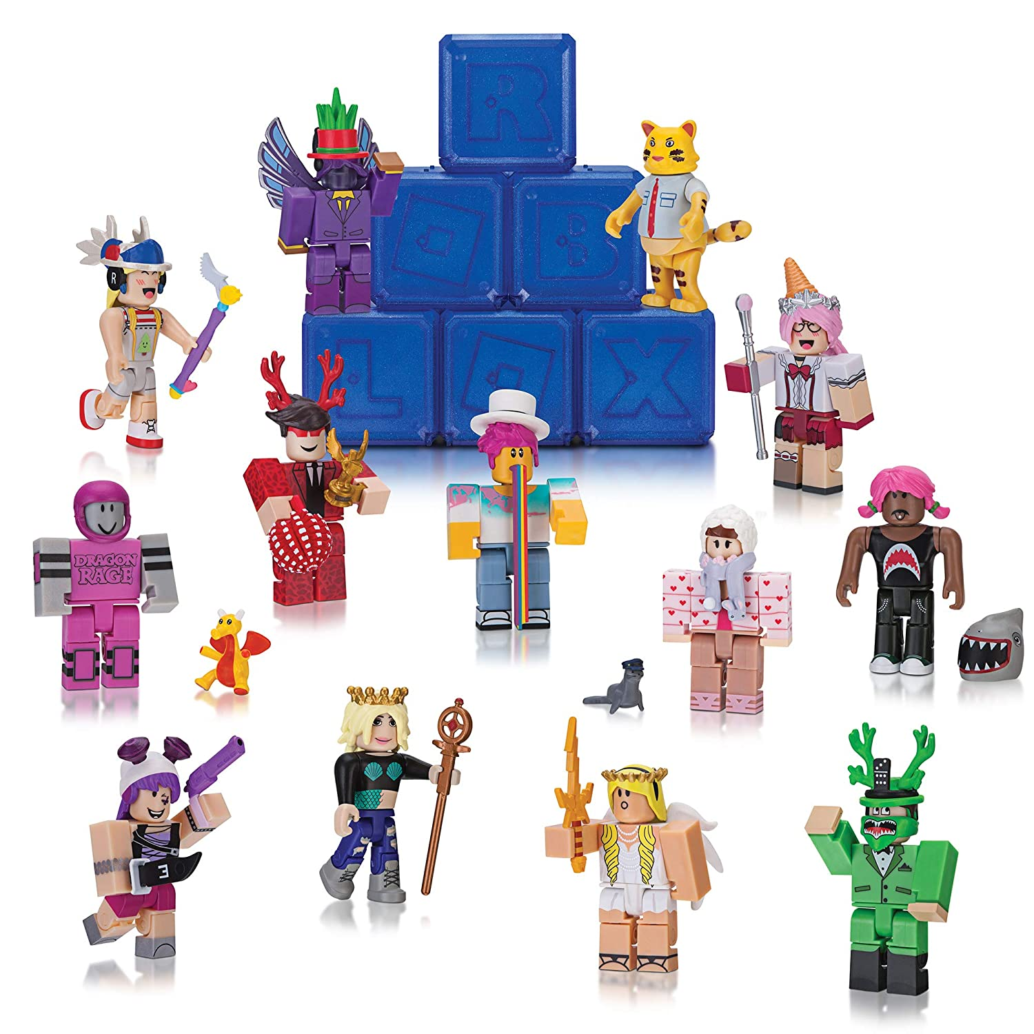 Cant Miss Bargains On Roblox Action Series 2 Full Box Set Buy Roblox Celebrity Collection Series 2 Mystery Figure Six Pack Online At Low Prices In India Amazon In