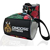 Wrist Wraps by DMoose Fitness – Premium Quality, Strong Velcro, Thumb Loops, Double Stitching – Maximize Your Weightlifting, Powerlifting, Bodybuilding & CrossFit Workouts with Durable Wraps