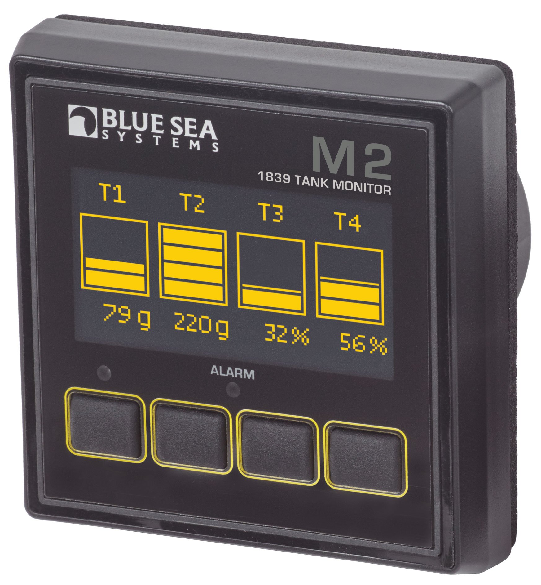 Blue Sea Systems M2 OLED Tank Monitor by Blue Sea Systems