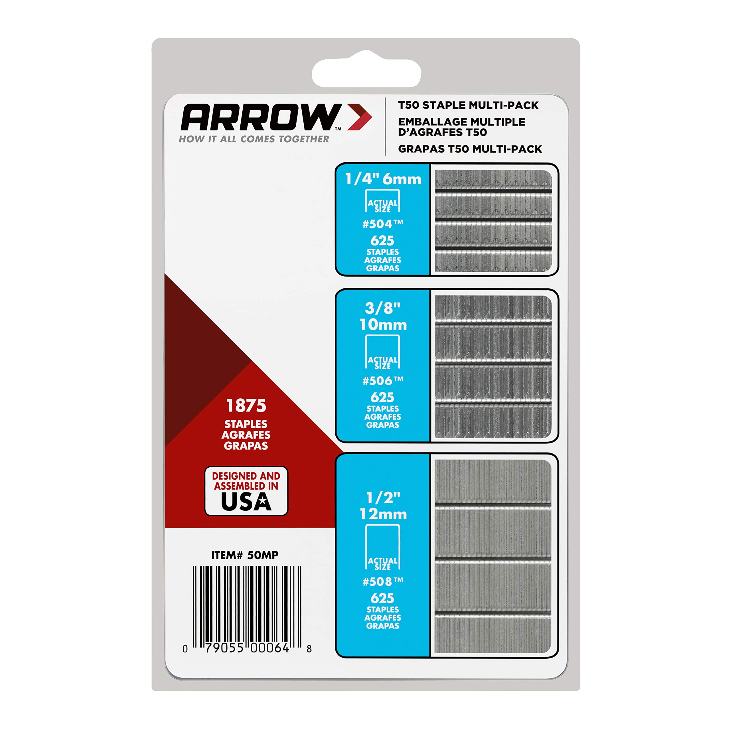 ARROW T50 Staples 50MP, 3-Pack by ARROW (Image #7)
