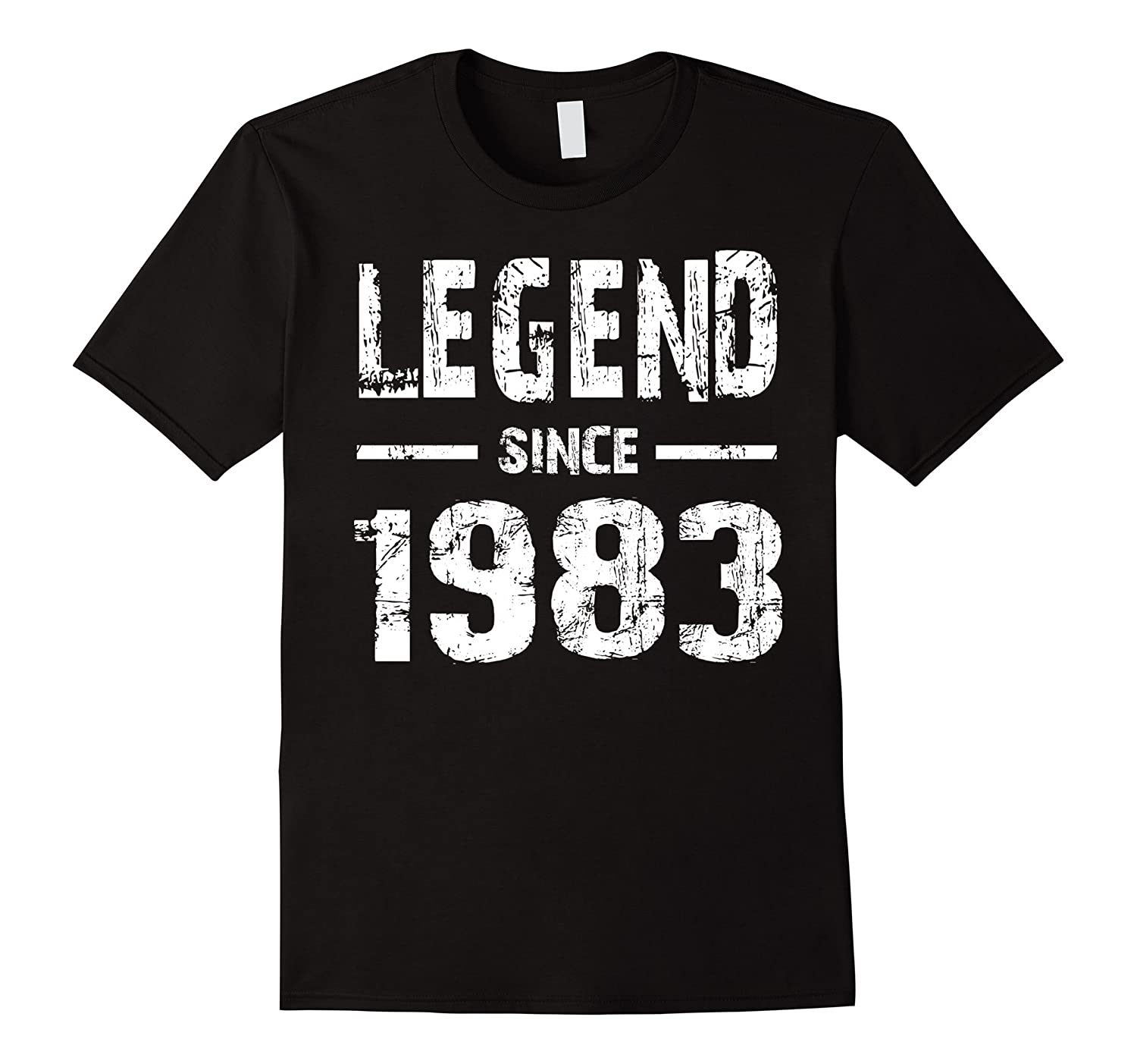 Legend Since 1983 34th Birthday 34 Years Old T-Shirt-TH