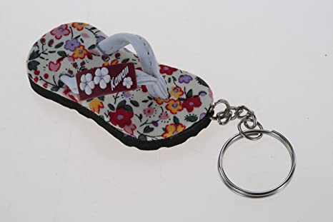 Amazon.com: Mini sandalia clave cadena tela ver.6 Fancy Idea ...