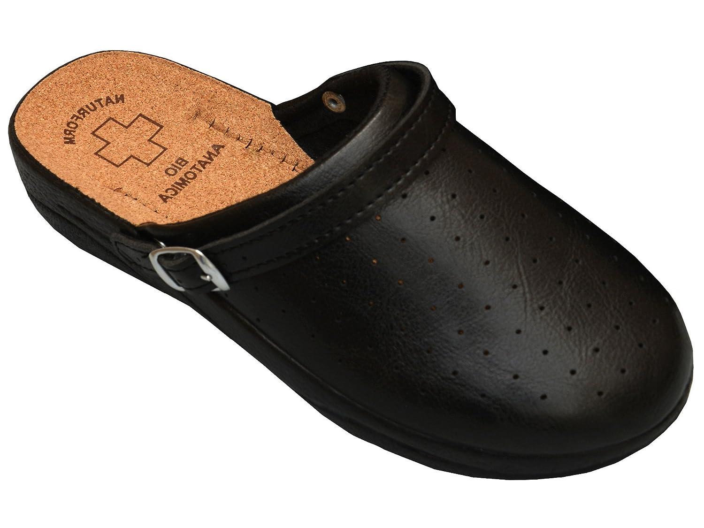 Bawal Sughero Pantofole da Donna Sandalias Scarpe Sanitarie Bianco ... 8abfdff5e6f