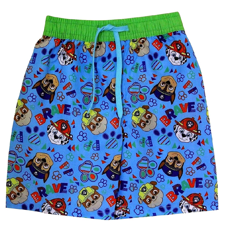 Nickelodeon TM Paw Patrol Print Blue Boy/'s Swimming Trunks Swim Beach Shorts Surf Water Boxers 2-3 Years