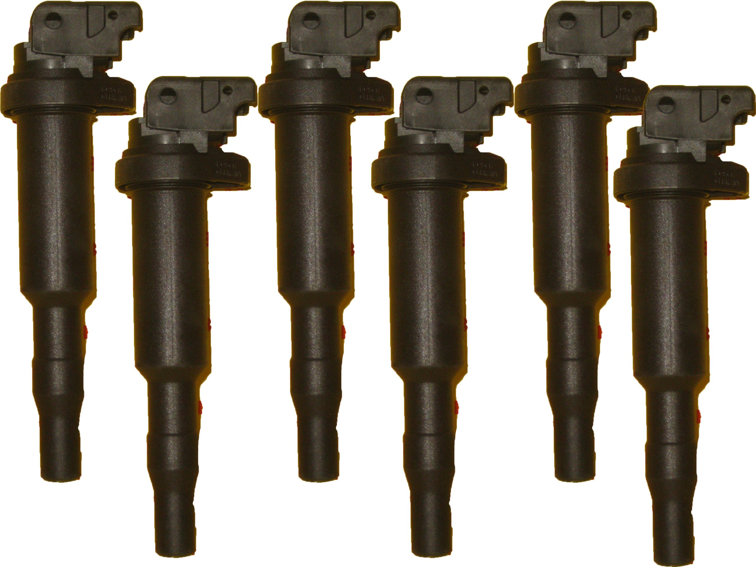 BMW Ignition Coil Bosch OEM 0470 / 12219 / 94937 (6pcs) by Bosch
