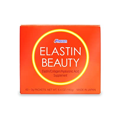 Umeken Elastin Beauty- Edible Elastin, Collagen, Hyaluronic Acid