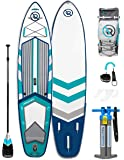 "iROCKER Inflatable Sport Stand Up Paddle Board 11' Long 31"" Wide 6"" Thick SUP Package"