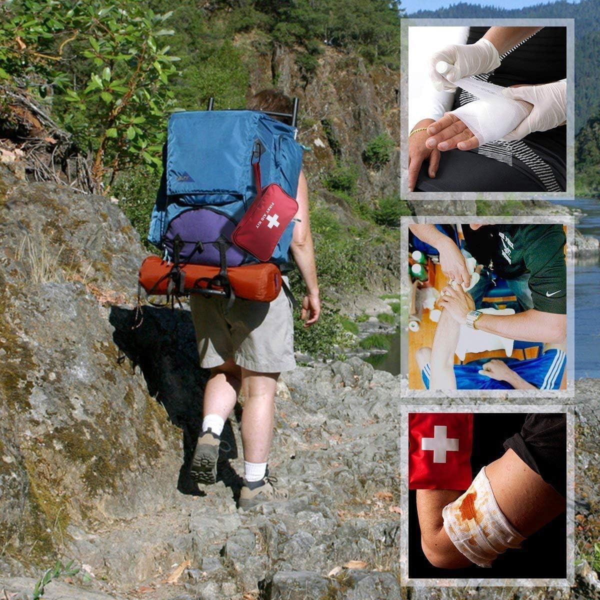 miniatura 7 - Kit di Primo Soccorso 180 Pezzi, Kit di Pronto Soccorso Compatto Professionale,