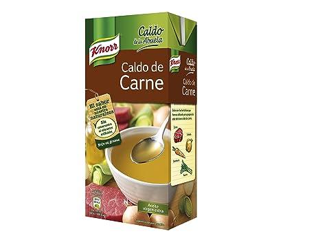 Knorr - Caldo Abuela Carne 1000 ml - Pack de 6 (Total 6000 ml)