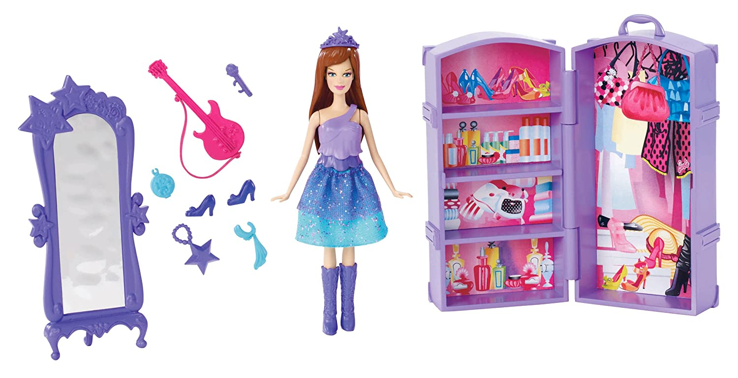Amazon Barbie The Princess And Popstar Mini Doll Scene Keira Toys Games
