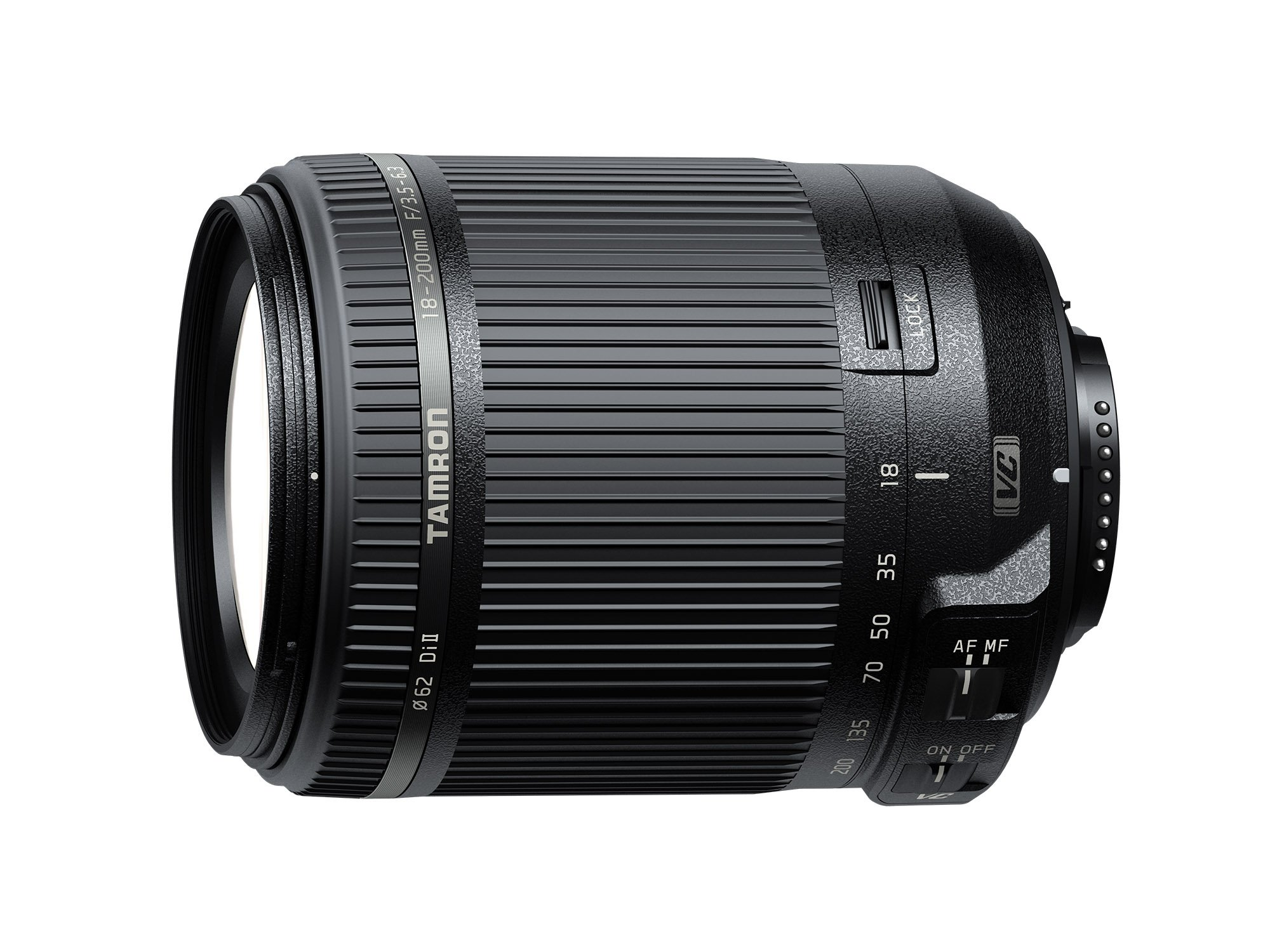 Tamron AF 18-200mm F/3.5-6.3 Di-II VC All-in-One Zoom for Nikon APS-C Digital SLR by Tamron