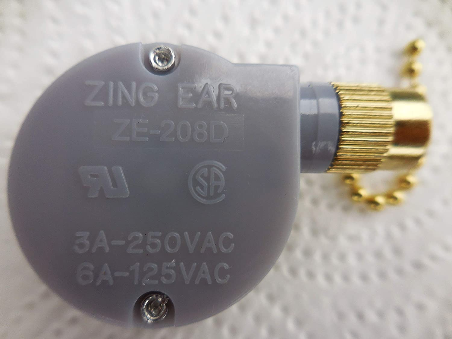 Genuine Zing Ear Ceiling Fan Pull Chain 2 Speed Control Replacement ...
