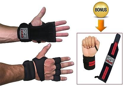 Guantes de entrenamiento para entrenamiento, Crossfit, levantamiento de pesas, dominadas, gimnasio,