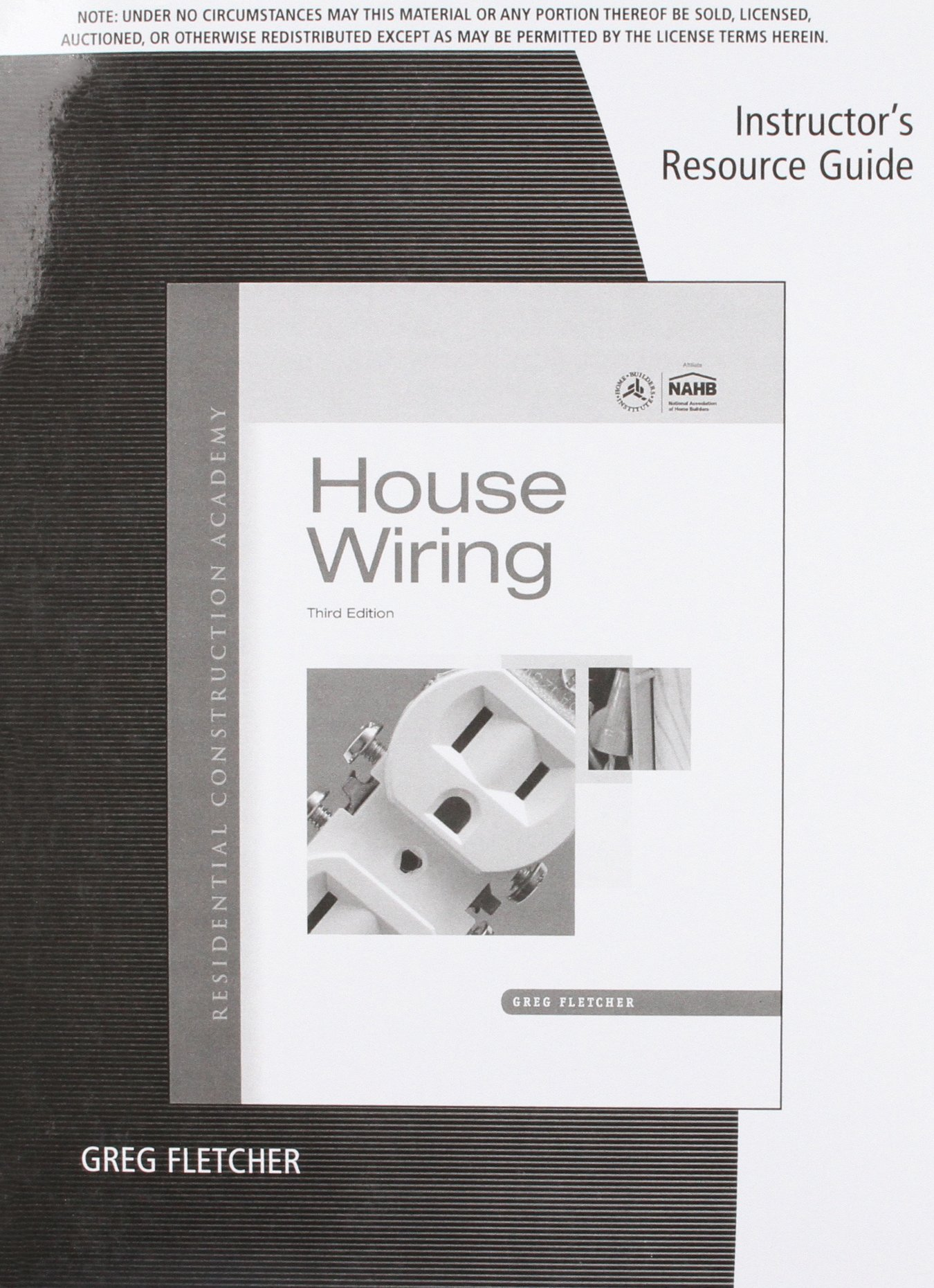 Irg RCA House Wiring 3e: 9781111306229: Amazon.com: Books