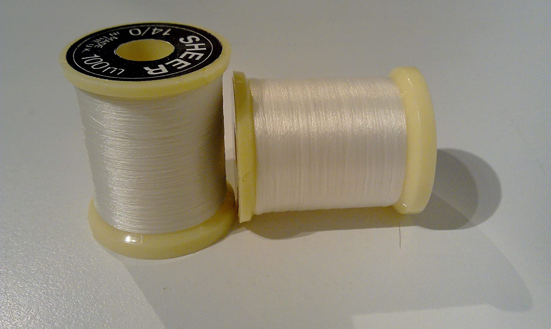 Gordon Griffiths 14//0 Sheer Ultrafine Thread