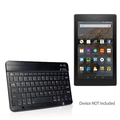 BoxWave Amazon Fire HD 8 (2017) Keyboard, [SlimKeys Bluetooth Keyboard] Portable