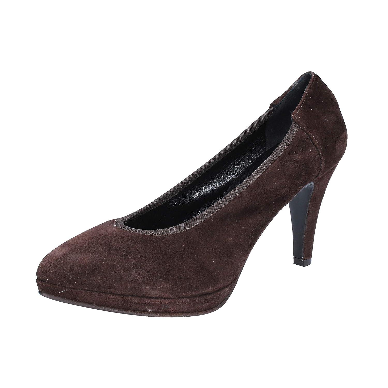- CALPIERRE Pumps-shoes Womens Suede Brown