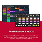 Akai Professional Fire   Performance Controller for FL Studio With Plug-And-Play USB Connectivity, 4 x 16 Velocity-Sensitive RGB Clip Matrix, OLED Display and FL Studio Fruity Fire Edition Included