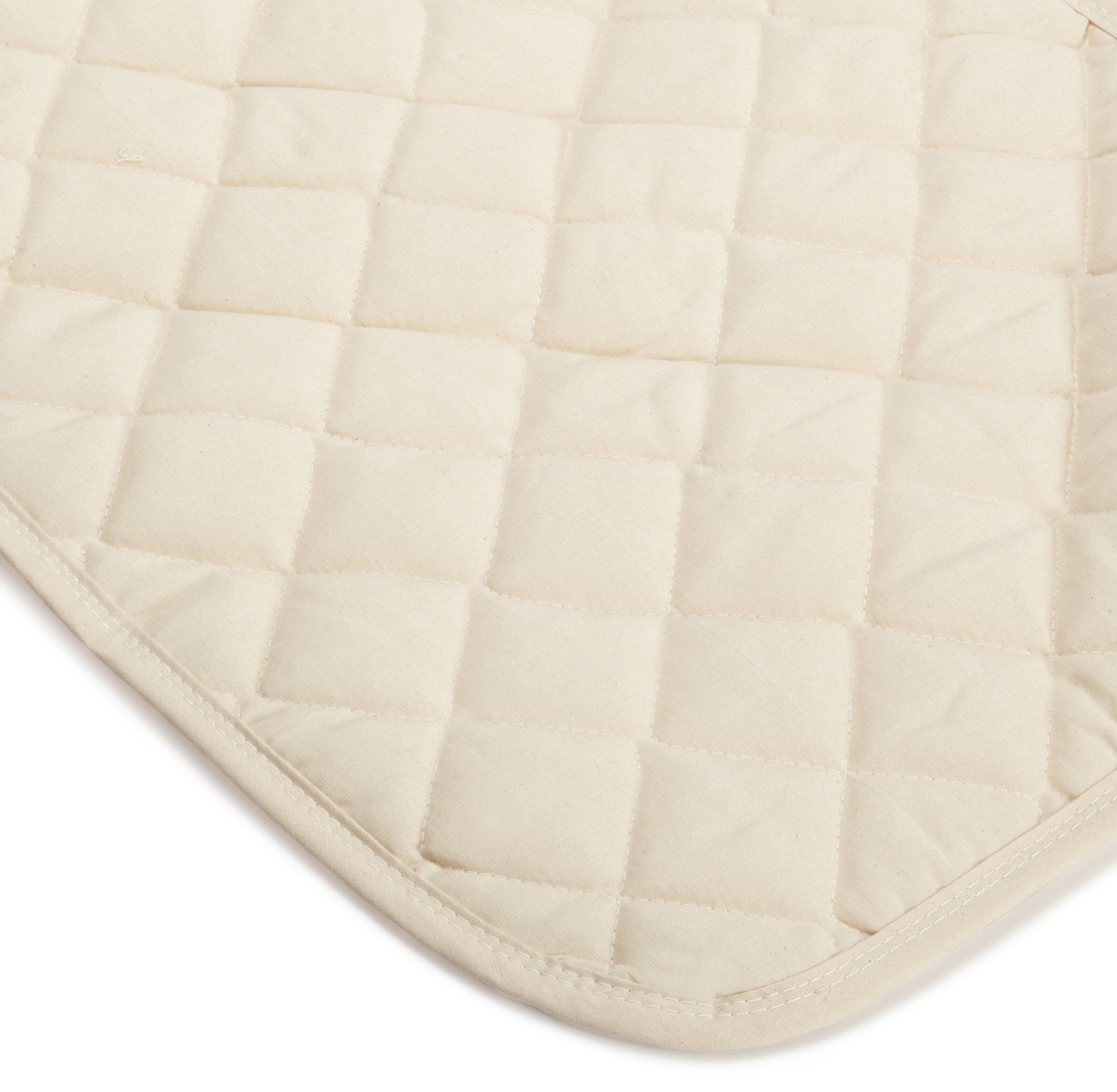 Bargoose Natural Cotton Top Bassinet Pads