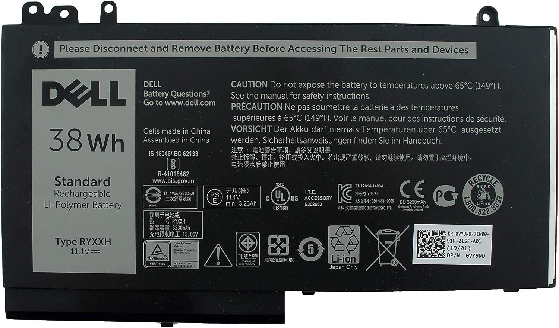 Green Cell RYXXH Laptop Battery for Dell Latitude 12 E5250 E5270 ...