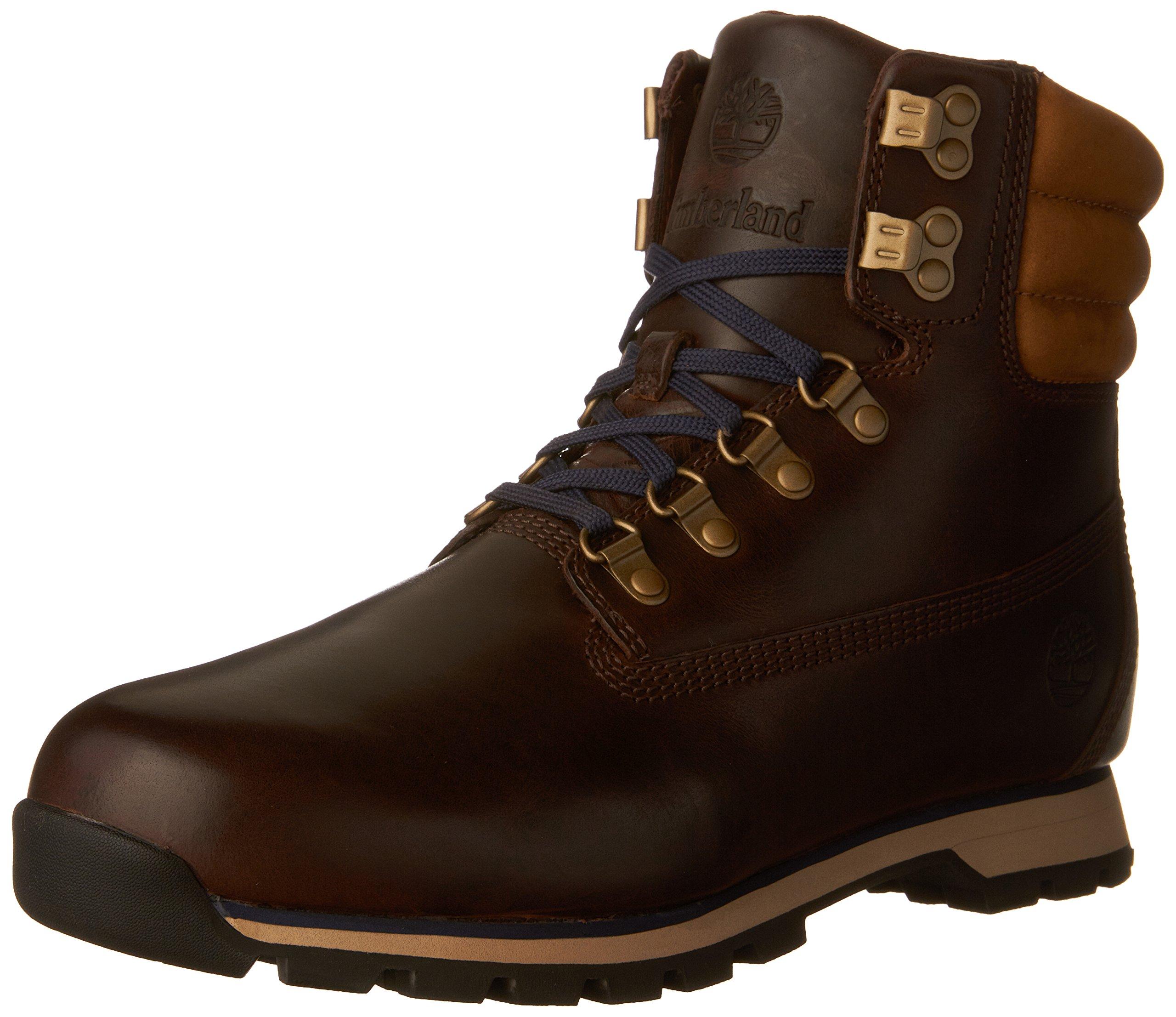 Timberland CA1G5R Men's Hutchington Hiker Boots, Potting Soil, 10 M US