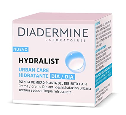 Diadermine - Pack Hydralist - 1 Crema Hidratante Día 50ml + 1 Bruma Hidratante 100ml: Amazon.es: Belleza