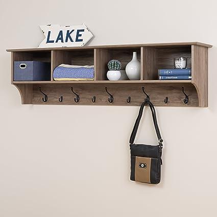 Amazoncom Prepac 60 Wide Hanging Entryway Shelf 60 Inches