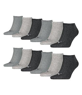 9d71ff0b625d Puma unisex Sneaker Socken Kurzsocken Sportsocken 261080001 12 Paar   Amazon.de  Bekleidung