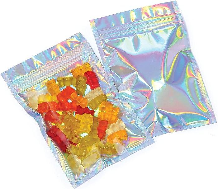 Mylar Bags with Ziplock 4 x 6