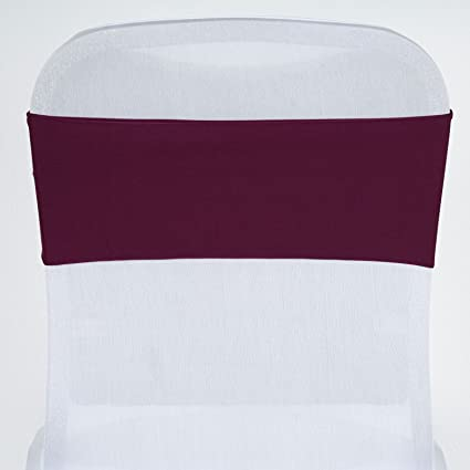 Astonishing Balsacircle 10 Eggplant New Spandex Chair Sashes Bows Ties Wedding Party Ceremony Reception Decorations Supplies Wholesale Forskolin Free Trial Chair Design Images Forskolin Free Trialorg