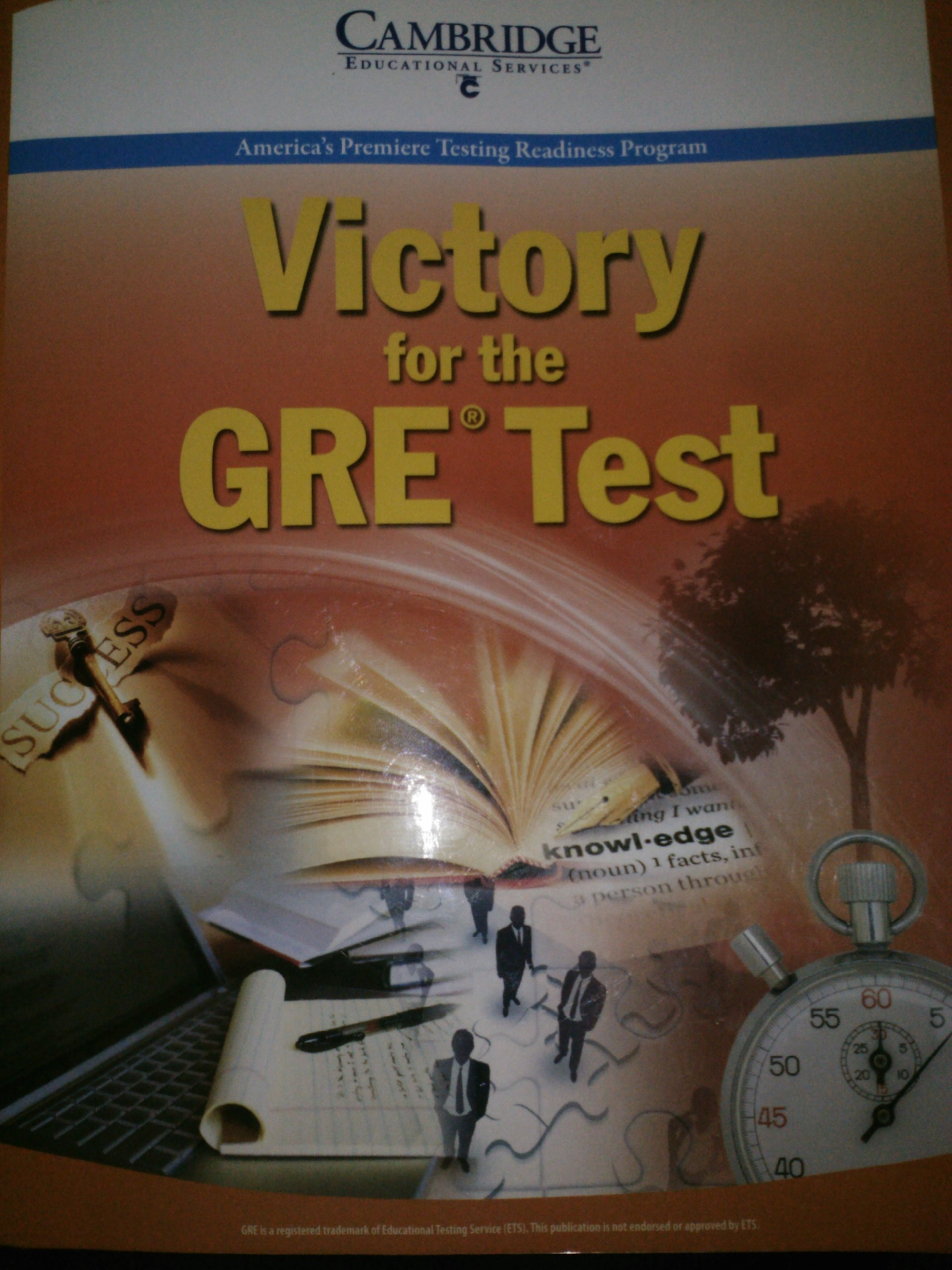 Cambridge Victory for the GRE Test 9th Edition pdf