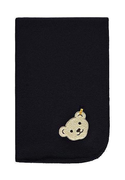 Steiff Decke Fleece, Saco de Dormir para Bebés, Azul (Marine|Blue 3032), Talla única: Amazon.es: Ropa y accesorios