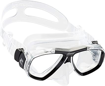 quality since 1946 FOCUS made by Cressi First Dive Mask with Inclined Lenses for Scuba Diving optical lenses available
