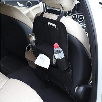 2Pack Car Seat Back Organiser Multi Pocket Felt Storage Bags Holders Travel NEW