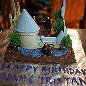 Amazon.com: Harry Potter Castle Cake Decorating Kit: Toys