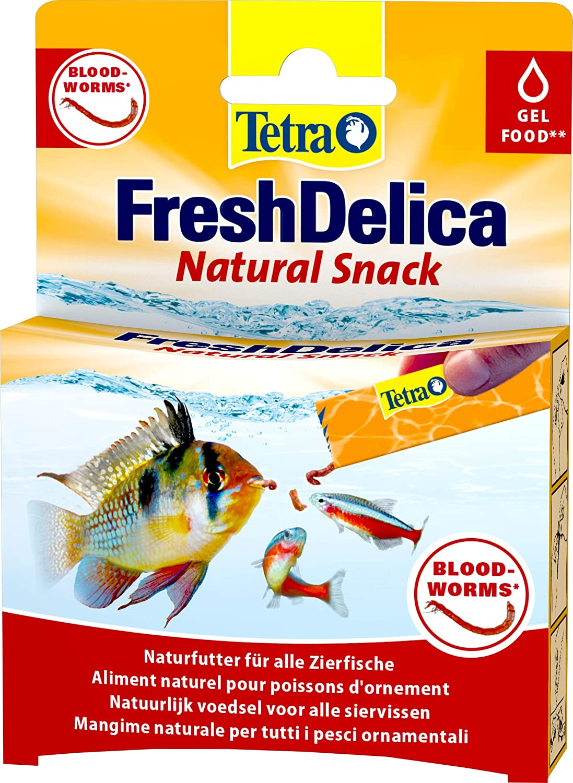 Tetra FreshDelica Larvas de mosquito rojas 48 g