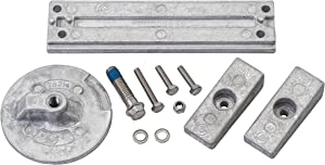 Quicksilver 8M0107550 Aluminum Anode Kit - Mercury Verado and Optimax Outboards
