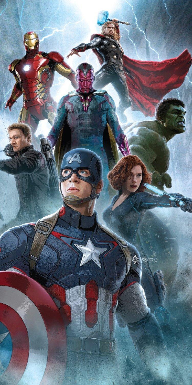 Marvel Avengers Age of Ultron Vision Cotton Beach Bath Towel 70 x 140cm