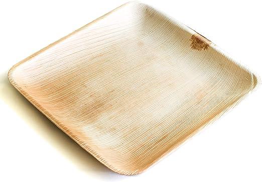 Desechable Green®  Caja de 100 unidades   platos redondos de 25 cm ...
