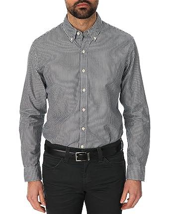 Levis - Camisa de manga larga para hombre, color blau (blau 0048)