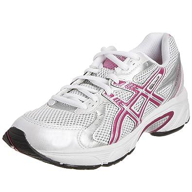 Asics Women s Gel Blackhawk 4 Running Shoe White Pink Silver T0F9N0137 ... bfedbb0cea
