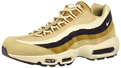 Nike Men's Air Max 95 PRM Gymnastics Shoes , Beige (Desert