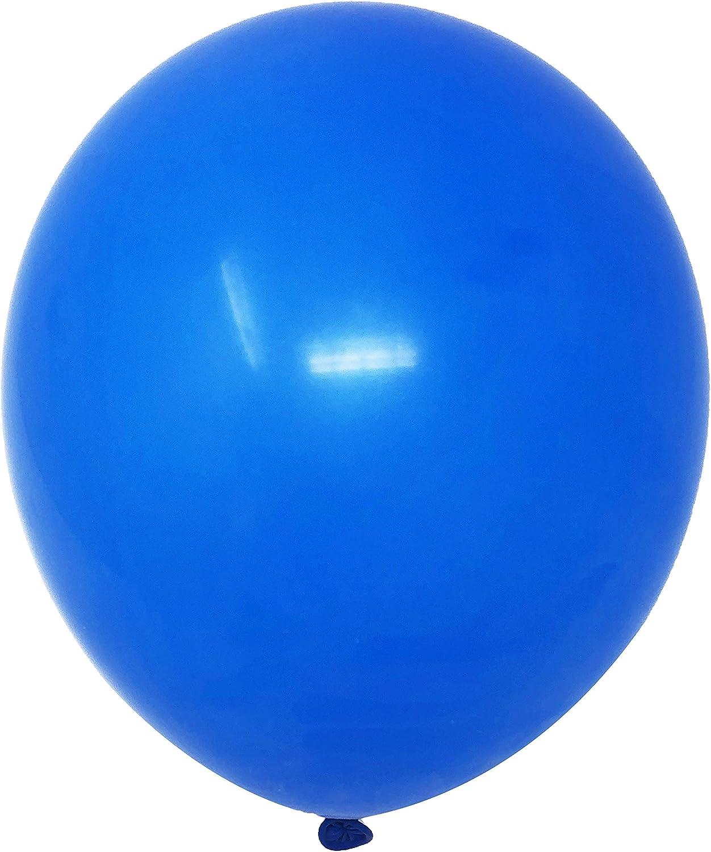 "Allgala 100ct 12"" Helium Grade Premium Latex Balloons (Royal Blue)"