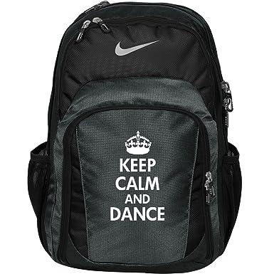 96988e925ee14 Keep Calm And Dance Bag: Nike Performance Backpack: Amazon.co.uk: Clothing