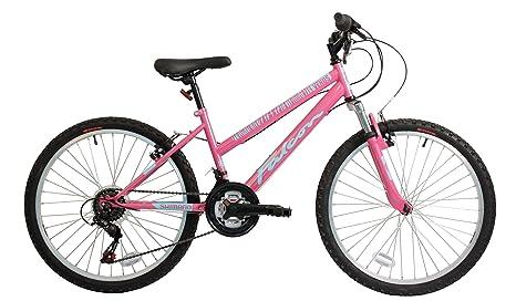 Falcon Venus HT - bicicleta niña rosa/azul, 60,96 cm: Amazon.es ...