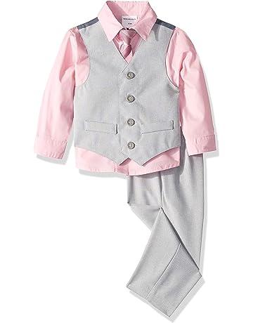 ed8e923fc Van Heusen Baby Boys 4-Piece Patterned Dresswear Vest Set