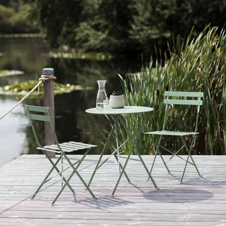 Deluxe résistant aux intempéries 3 pièces meubles de jardin ...